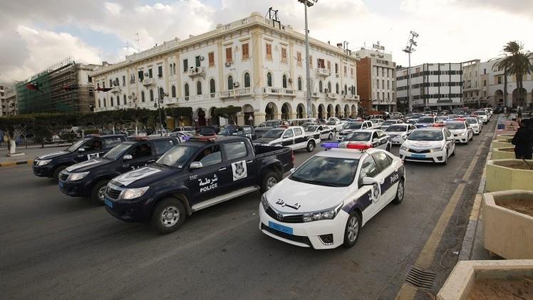 انفجار بزاوية الدهماني وسط العاصمة الليبية طرابلس