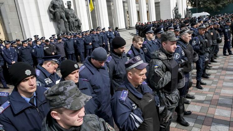 كييف.. الآلاف ينضمون إلى عمال المناجم مطالبين بتحسين مستوى المعيشة (فيديو)