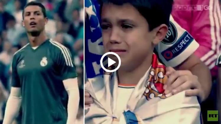 (فيديو) موقف إنساني من رونالدو