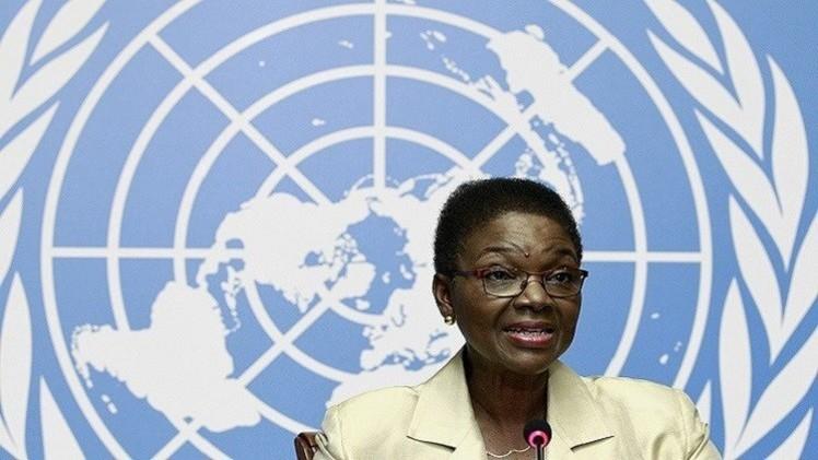 آموس تدعو مجلس الأمن إلى فرض حظر على توريد الأسلحة إلى سوريا