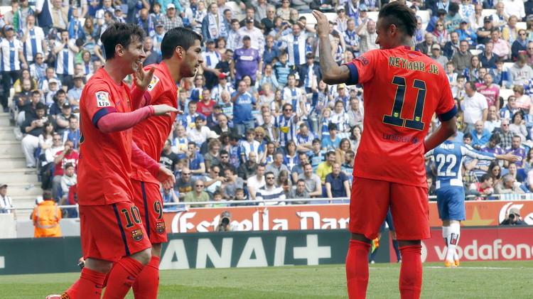 (فيديو) برشلونة يحسم الديربي الكاتالوني لصالحه في الليغا