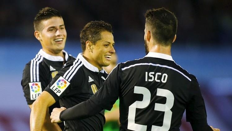 ريال مدريد يهزم سيلتا فيغو العنيد في عقر داره