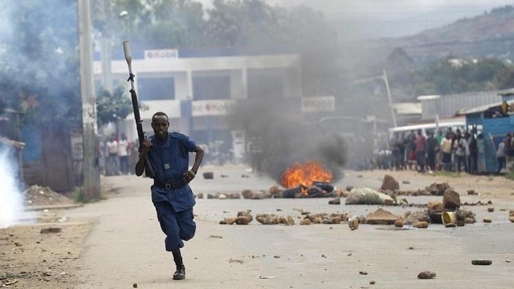 قتلى بتفريق متظاهرين في بوروندي احتجاجا على ترشح الرئيس لولاية ثالثة