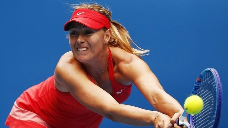 شارابوفا تتقهقر في التصنيف العالمي للاعبات التنس