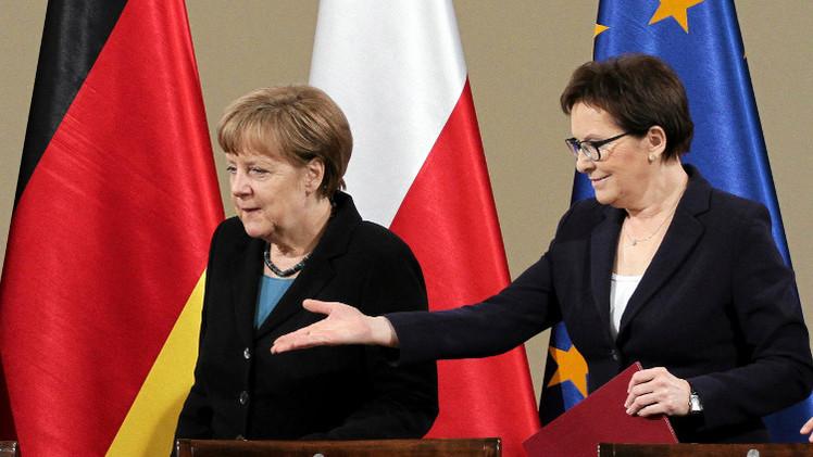 ميركل: الاتحاد الأوروبي سيبحث مصير العقوبات ضد روسيا في يوليو