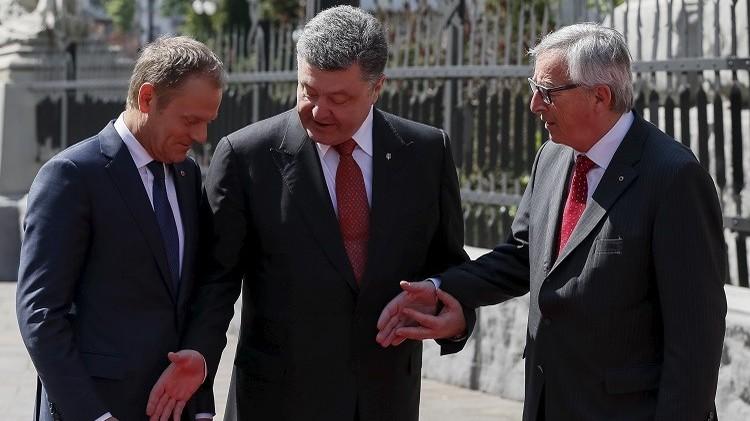 بوروشينكو يدعو الزعماء الأوروبيين لمنح أوكرانيا آفاقا للانضمام إلى الاتحاد الأوروبي
