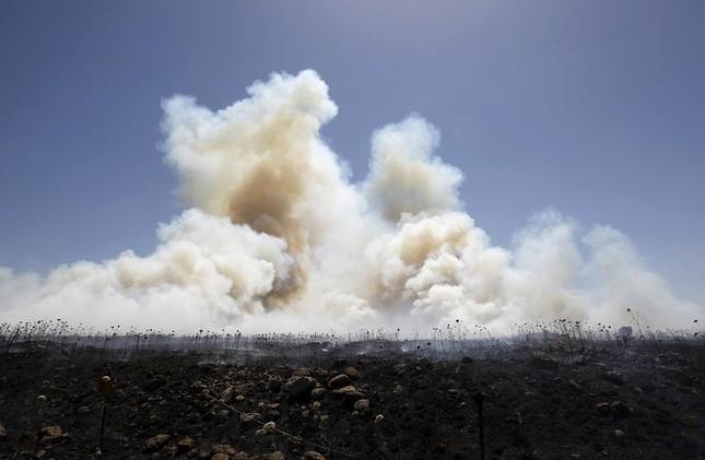 سقوط قذيفتين قرب مستوطنة عين زيفان في الجولان المحتل