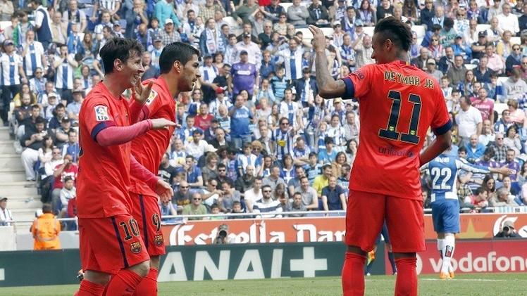التشكيلة الأساسية لبرشلونة في مواجهة خيتافي
