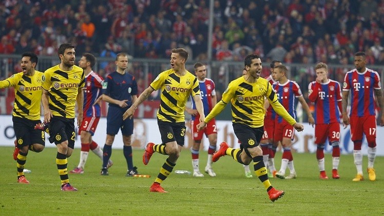 دورتموند يهزم البايرن ويبلغ نهائي كأس ألمانيا