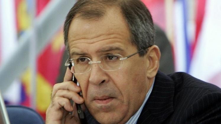 لافروف يؤكد لكيري ضرورة إجراء حوار مباشر بين كييف ودونباس شرق أوكرانيا