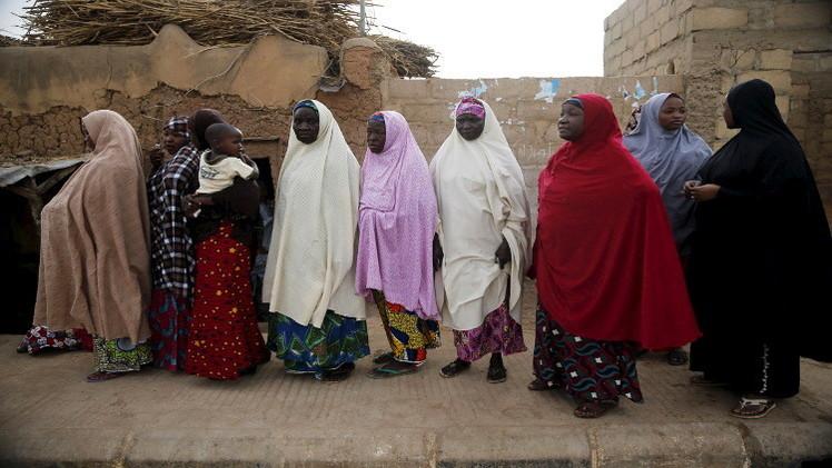 الجيش النيجيري يحرر مجموعة جديدة من النساء والأطفال