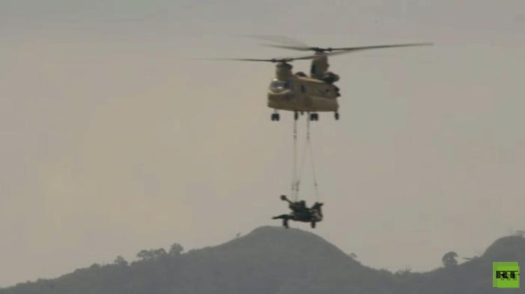 استعراض للقوة النارية في تدريبات مشتركة للقوات الأمريكية والفلبينية (فيديو)
