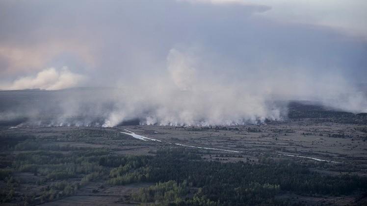 كييف تعلن عن نجاح عملية إطفاء الحريق قرب محطة تشيرنوبل