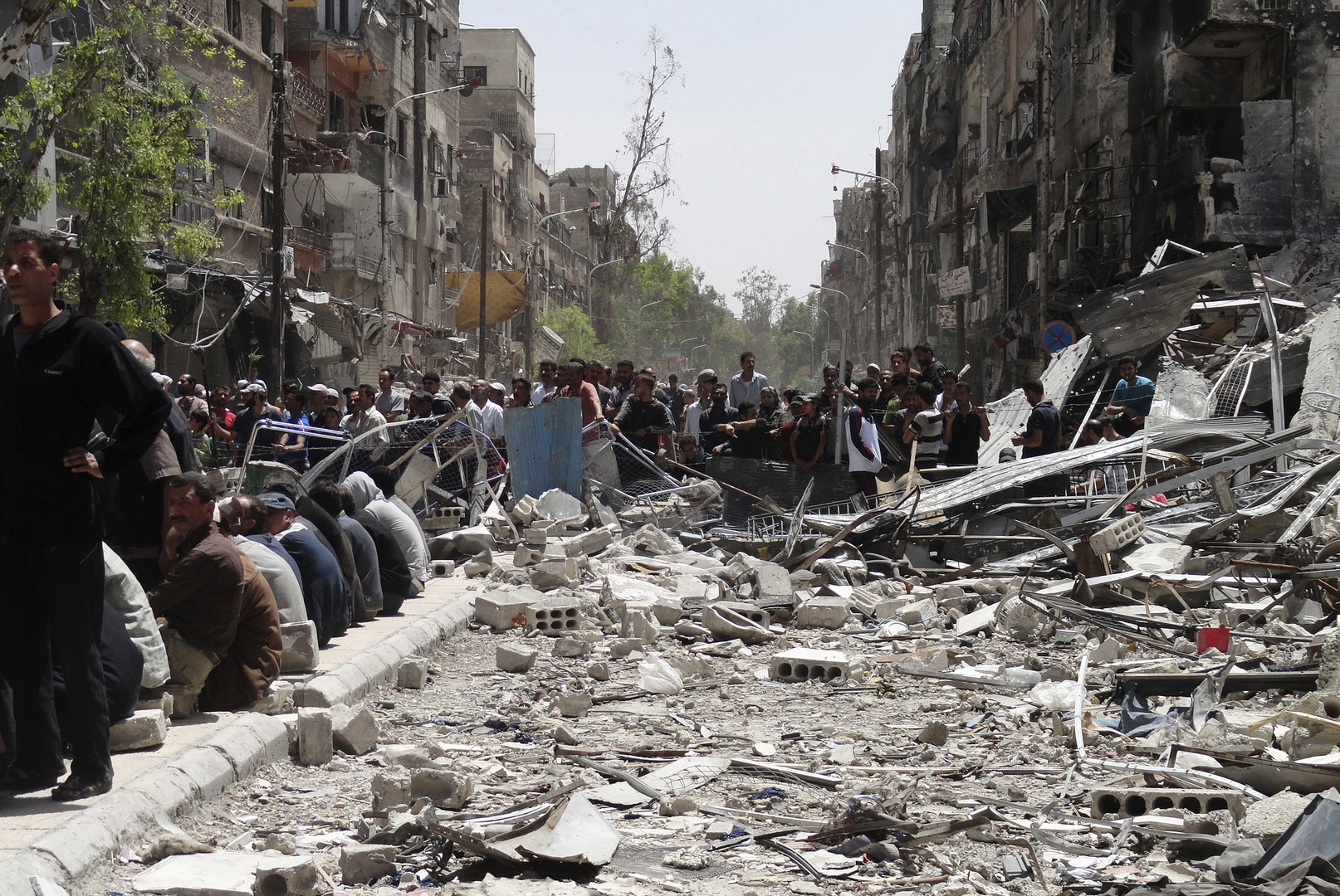 الموت الأسود يداهم اليرموك