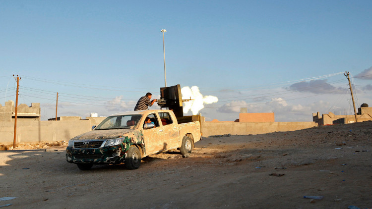 """""""فجر ليبيا"""" يسيطر على فشلوم .. وليون يدين القتال"""