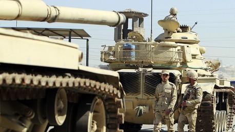 دبابات للجيش المصري في القاهرة
