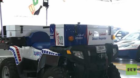 مؤسسة دبي لخدمات الإسعاف تحصل على سيارة إسعاف مبتكرة