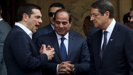 القمة المصرية اليونانية القبرصية