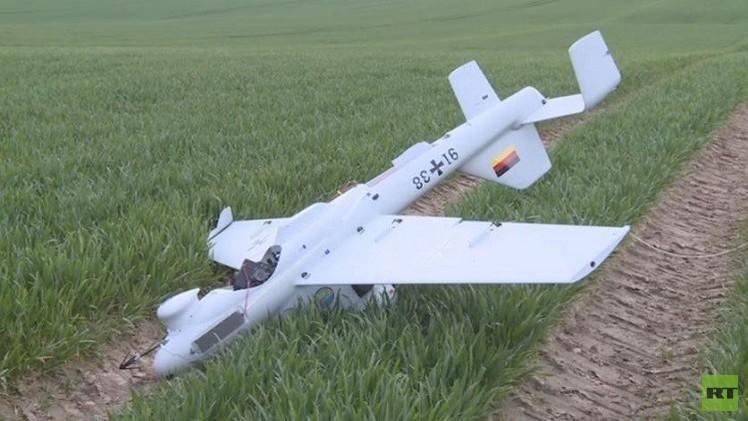 الجيش الألماني يبدأ اختبار طائرات من دون طيار (فيديو)