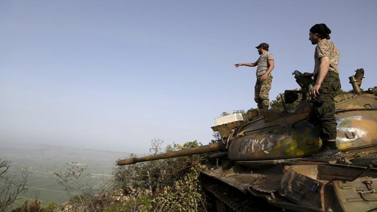 معارك عنيفة في ريف اللاذقية غرب سوريا