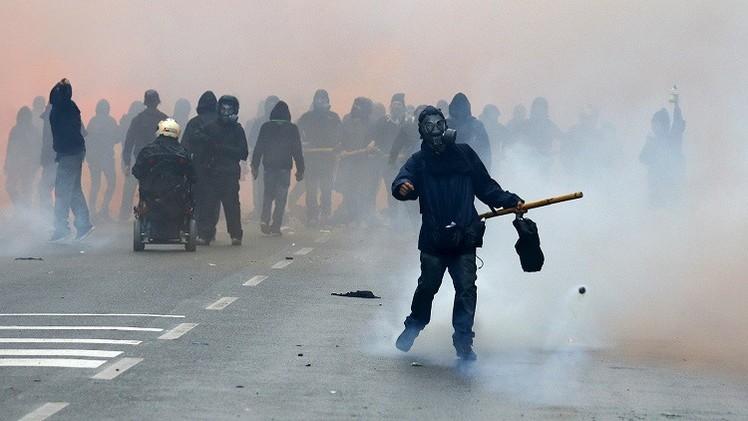 إيطاليا تفتتح معرض إكسبو ميلانو 2015 وسط مواجهات عنيفة بين الشرطة ومحتجين