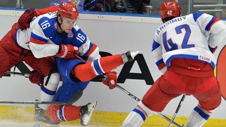 هوكي الجليد للرجال.. روسيا تبدأ الدفاع عن لقب بطولة العالم بفوز صريح على النرويج (فيديو)
