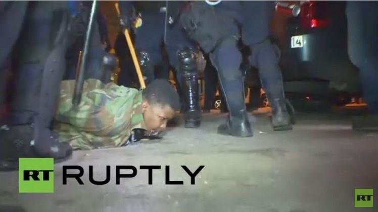 شرطة بالتيمور تعتقل العشرات إثر انتهاك حظر التجول (فيديو)