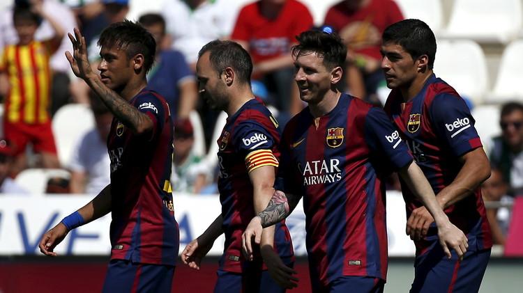 (فيديو) تحضيرا لبايرن ميونيخ.. برشلونة يسجل ثمانية في شباك غرناطة