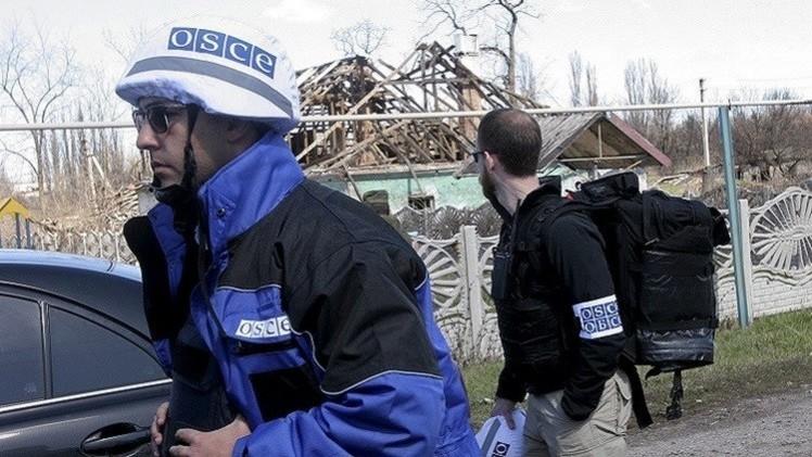 بعثة المراقبين في أوكرانيا تتعرض للقصف شرق البلاد
