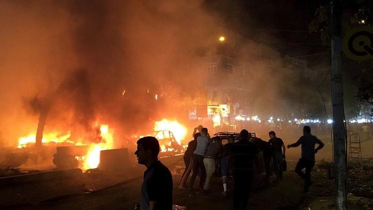 الأنبار..مقتل نحو 12 جنديا في تفجيرات انتحارية