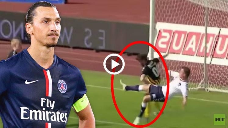 (فيديو) لاعب دنماركي يقلد إبراهيموفيتش بهدف على طريقة لاعبي الكاراتيه