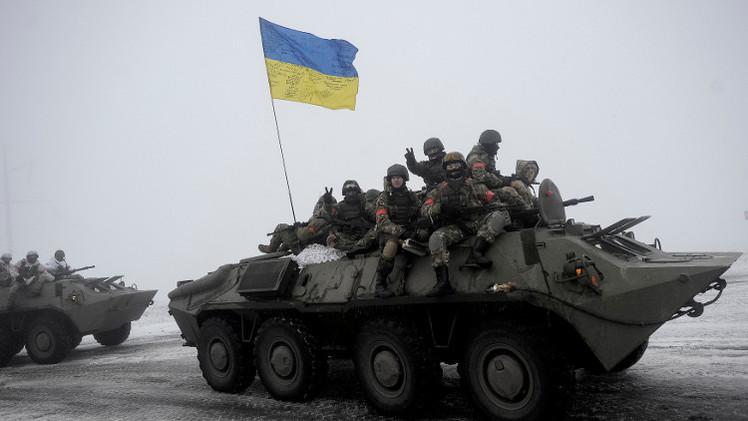 مقتل جنديين أوكرانيين بانفجار قنبلة شرقي أوكرانيا