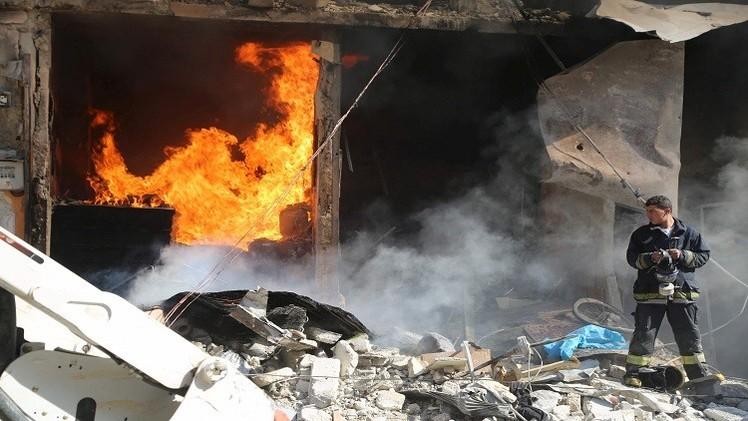 انتحاري يفجر نفسه وسط دمشق (فيديو)