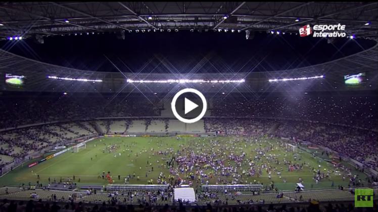 (فيديو) أعنف مشاجرة في تاريخ كرة قدم بين جمهور فريقين