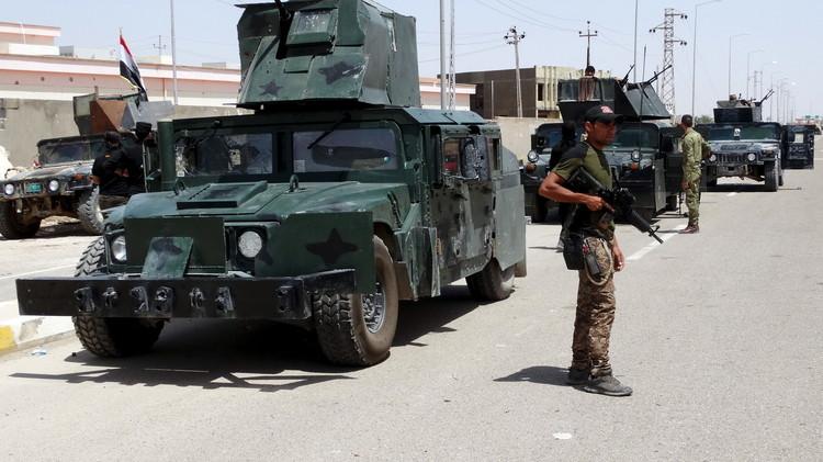القوات العراقية تعلن مقتل العشرات من