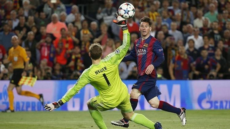 التشامبيونز ليغ .. ميسي يقود برشلونة إلى الفوز على بايرن ميونيخ