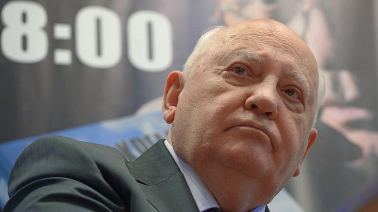 غورباتشوف: رفض زعماء غربيين حضور الاحتفالات في الـ 9 مايو استهتار بشعوبنا