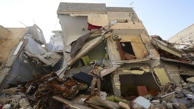 مصادر طبية: مقتل شخصين بهجوم صاروخي على مبنى سكني في بنغازي