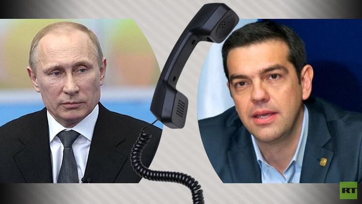 بوتين وتسيبراس يبحثان مشروع بناء خط نقل الغاز الروسي عبر الأراضي اليونانية