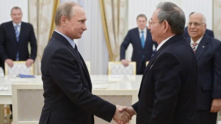 بوتين يشيد بالعلاقات الروسية الكوبية
