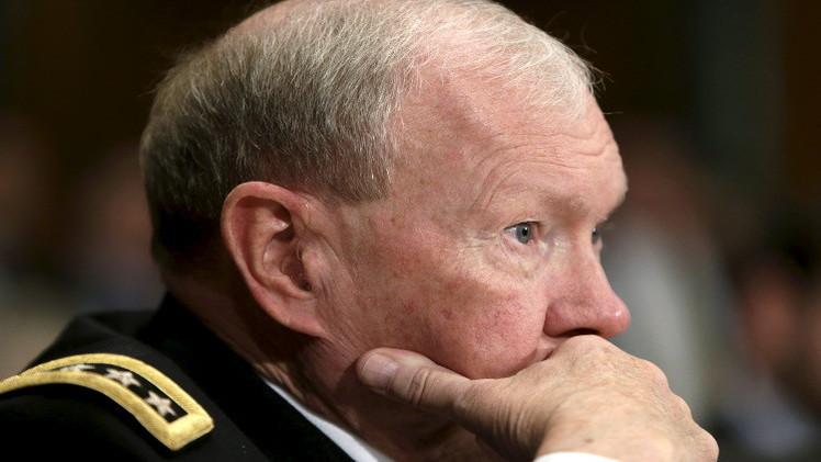 ديمبسي: القوات الأمريكية تحاول تخفيف الضغط عن القوات العراقية في بيجي