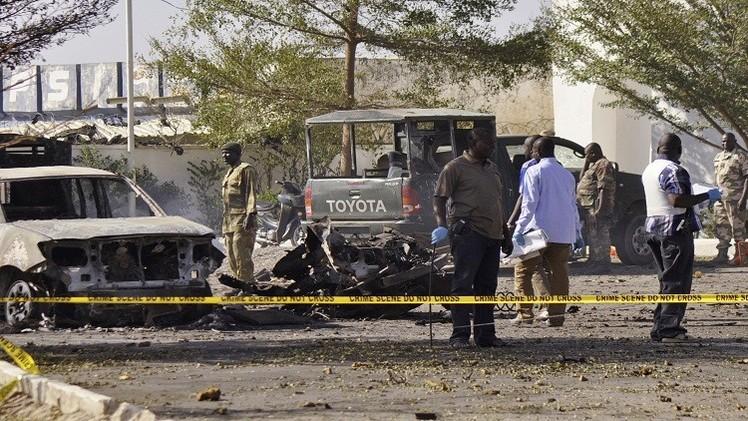 إصابة 12 شخصا في هجوم انتحاري على معهد شمال شرق نيجيريا