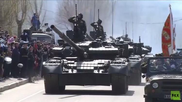 موسكو.. عرض عسكري مهيب في الذكرى الـ70 للنصر