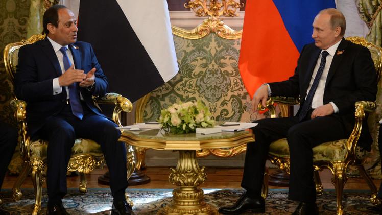 بوتين خلال استقباله السيسي: نبذل ما بوسعنا لخدمة روسيا ومصر على حد سواء (فيديو)