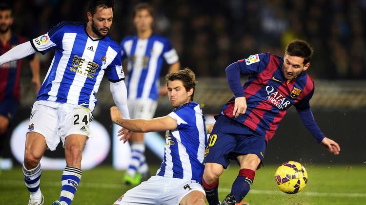تشكيلة برشلونة الأساسية ضد ضيفه ريال سوسييداد