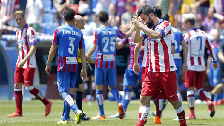أتلتيكو مدريد يتعادل مع ليفانتي ويشعل الصراع مع فالنسيا