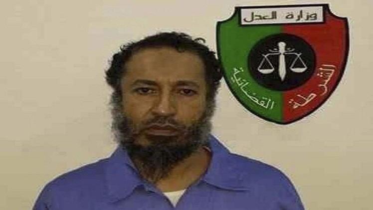 الساعدي نجل القذافي يمثل أمام القضاء بتهمة القتل