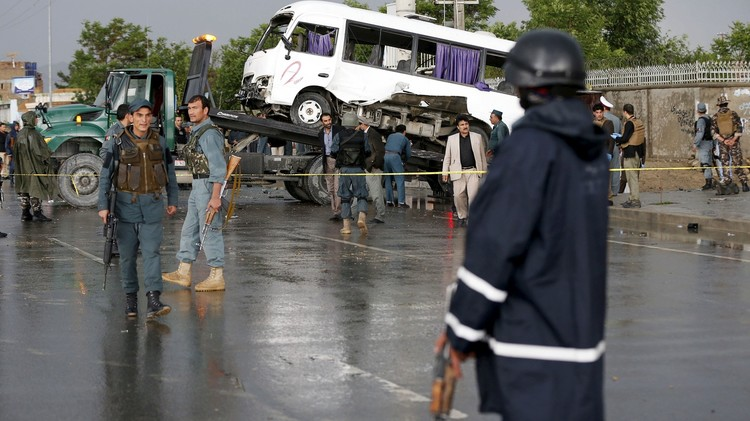 مقتل 3 أشخاص بهجوم انتحاري لطالبان في كابل