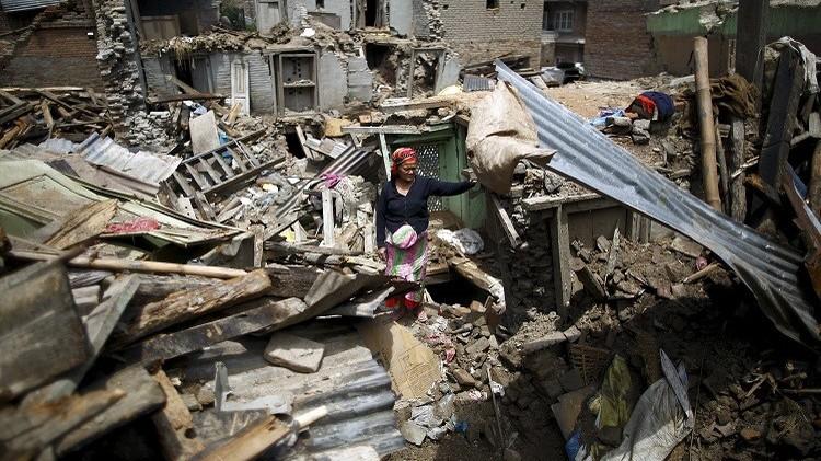 ارتفاع حصيلة زلزال نيبال الثاني إلى 65 قتيلا وقرابة 2000 جريح