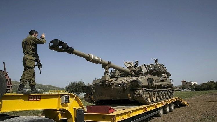 تدريبات عسكرية إسرائيلية في الخليل بالضفة الغربية